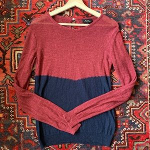 A.P.C.  Color block Sweater size S